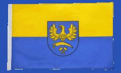 Drapeau Haute-Silésie avec ourlet