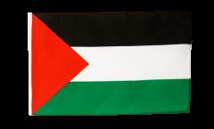 Drapeau Palestine avec ourlet