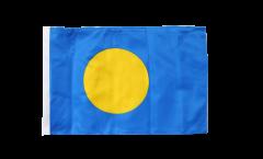 Drapeau République des Palaos avec ourlet
