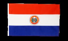 Drapeau Paraguay avec ourlet