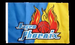 Drapeau Phoenix Hagen avec ourlet