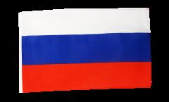 Drapeau Russie avec ourlet