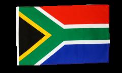 Drapeau Afrique du Sud avec ourlet