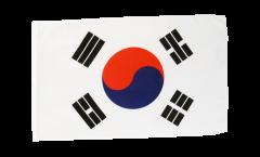Drapeau Corée du Sud avec ourlet