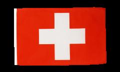 Drapeau Suisse avec ourlet