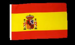 Drapeau Espagne avec ourlet
