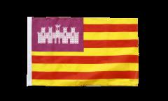 Drapeau Espagne Baléares avec ourlet