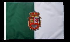 Drapeau Espagne Fuerteventura avec ourlet