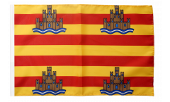 Drapeau Espagne Ibiza avec ourlet