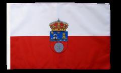 Drapeau Espagne Cantabrie avec ourlet