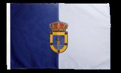Drapeau Espagne La Palma avec ourlet