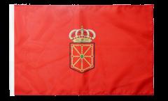 Drapeau Espagne Navarre avec ourlet