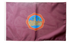Drapeau Espagne Cordoue avec ourlet