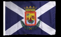 Drapeau Espagne Ténérife avec ourlet