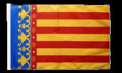 Drapeau Espagne Valence avec ourlet