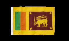 Drapeau Sri Lanka avec ourlet