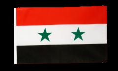 Drapeau Syrie avec ourlet