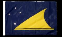 Drapeau Tokelau avec ourlet