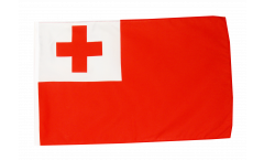 Drapeau Tonga avec ourlet