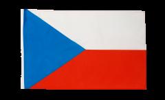 Drapeau République tchèque avec ourlet