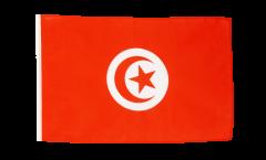 Drapeau Tunisie avec ourlet