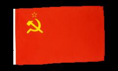 Drapeau URSS avec ourlet