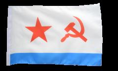 Drapeau URSS Marine soviétique avec ourlet