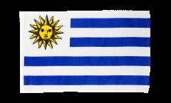 Drapeau Uruguay avec ourlet