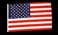 Drapeau USA avec ourlet
