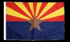 Drapeau USA US Arizona avec ourlet