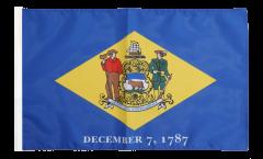 Drapeau USA US Delaware avec ourlet