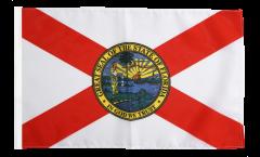 Drapeau USA US Florida avec ourlet