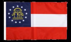 Drapeau USA US Géorgie avec ourlet