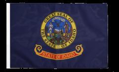 Drapeau USA US Idaho avec ourlet