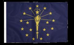 Drapeau USA US Indiana avec ourlet