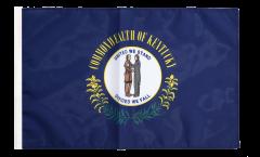 Drapeau USA US Kentucky avec ourlet
