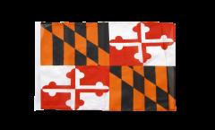 Drapeau USA US Maryland avec ourlet