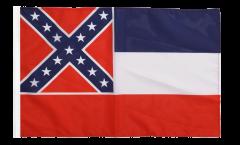 Drapeau USA US Mississippi avec ourlet