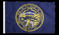 Drapeau USA US Nebraska avec ourlet