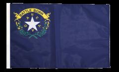 Drapeau USA US Nevada avec ourlet