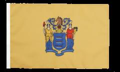 Drapeau USA US New Jersey avec ourlet