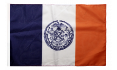 Drapeau USA Etats-Unis New York City avec ourlet