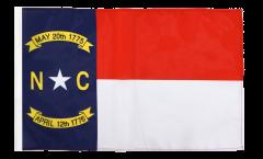 Drapeau USA US North Carolina avec ourlet