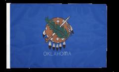 Drapeau USA US Oklahoma avec ourlet