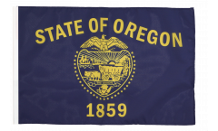 Drapeau USA US Oregon avec ourlet