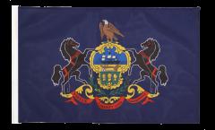 Drapeau USA US Pennsylvania avec ourlet