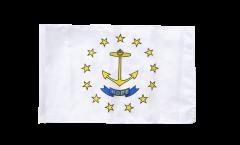 Drapeau USA US Rhode Island avec ourlet