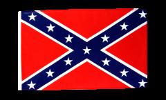 Drapeau confédéré USA Sudiste avec ourlet