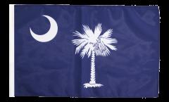 Drapeau USA US South Carolina avec ourlet