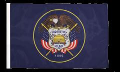 Drapeau USA US Utah avec ourlet
